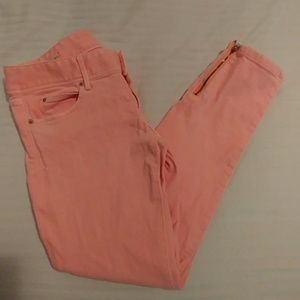 Lilly Pulitzer Worth Skinny Mini Zip Jeans sz.4